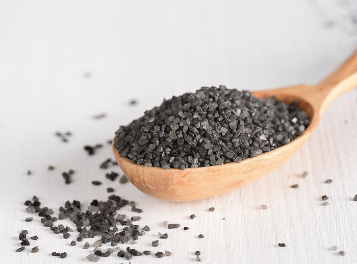 Consumption of black salt in your food intake is good for health