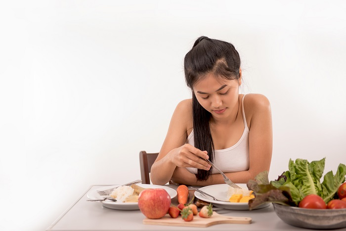 control of your eating habits through mindful eating