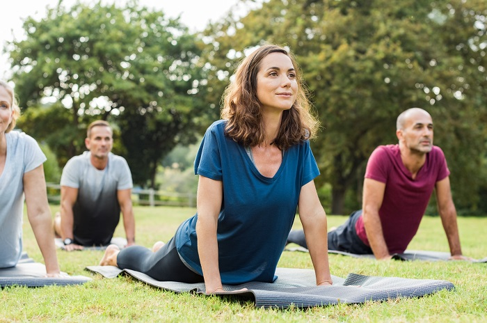 do yoga for a fit body