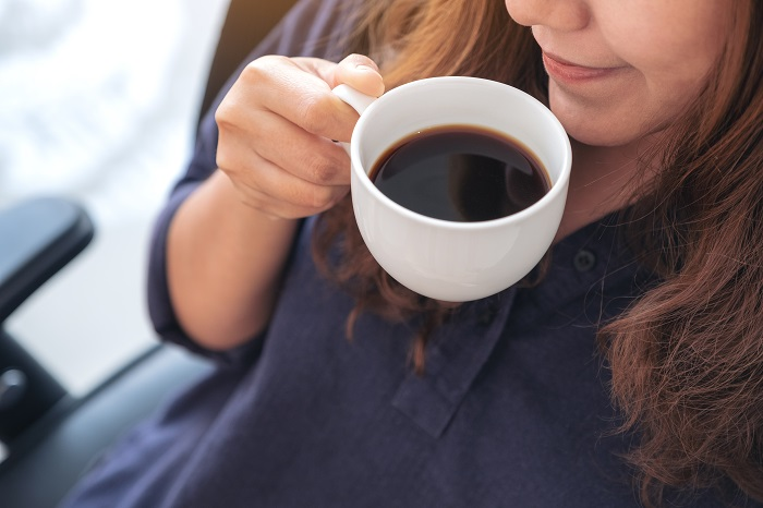 drink black coffee for weight loss